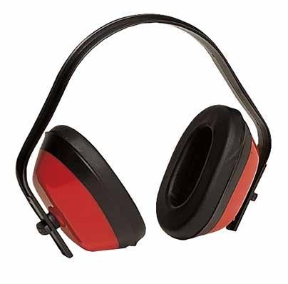 PROTETOR DE OUVIDOS AJUSTAVEL VERMELHO SNR27,6 dB EN352-1